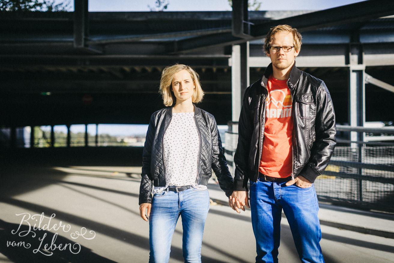 Urban Portrait - Paarshoot mit Conny und Martin in Nürnberg - Pärchenshooting in städtischer Kulisse