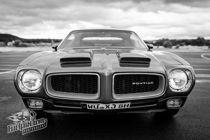 House of Shelbys-US-Car Dragrace Flugplatzrennen auf dem Army Airfield in Kitzingen Trans Am Pontiac Firebird